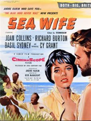 Sea Wife 1957 DVD - Joan Collins / Richard Burton